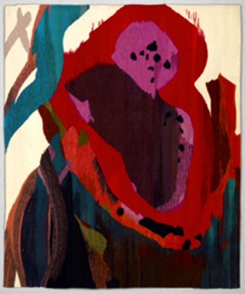 """Maj-Britt Mobrand, Watermelon Man, 48"""" x 58"""""""