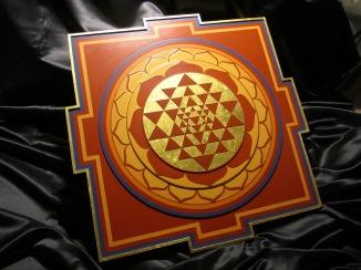 Yantra, by Berkeley's Sacred Artist Ekabhumi Ellik